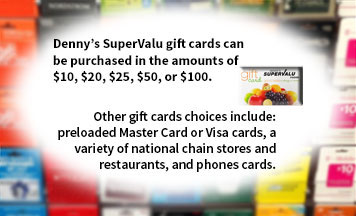 denny s gift card denny s supervalu grocery store algoma wi services 3198